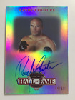 2012 Press Pass Legends Randy Couture 50 Auto On-Card Hall of Fame Edition UFC