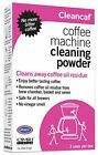 Urnex Cleancaf Coffee Maker  Espresso Machine Cleaner Powder 3 Packets