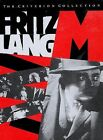 Fritz Lang M DVD 1998 Criterion Collection FREE SHIPPING