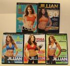 3 Jillian Michaels DVD lot Yoga meltdown 6 week six pack shred it with weights