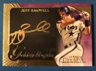 Jeff Bagwell 2017 Topps Five Star Golden Graphs On Card Auto! #d 11 25! Astros