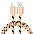 2X 6FT Lightning USB Charger Cable A pple Charging Cord For i Phone 8 6S 7 Plus