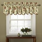 Waverly 10982050X015CRE Felicite 50-Inch by 15-Inch Window Valance, Creme