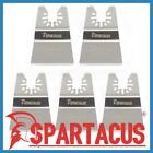 5 x Spartacus 52mm Flexible Stepped Scraper Multitool Grout Glue Paint Blades