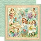 Graphic 45 Sweet Sentiments Collection Scrapbook Paper 12 X 12 Spring Valentine