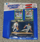 1989 STARTING LINEUP BASEBALL SLU JOSE CANSECO & ALAN TRAMMELL ONE ON ONE #1