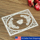 4pcs Hollow Frame Scrapbooking Dies Stencials Cutting Paper Photo Album Craft US