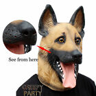 German Shepherd Mask Head Cover Costume Halloween Party Clothing Accessories Dog