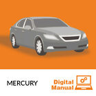 Mercury - Service and Repair Manual 30 Day Online Access