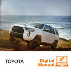 Toyota - Service and Repair Manual 30 Day Online Access