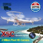 Syma X5C 1 Explorers Quadcopter Drone 24G 4CH RC Mode 2 With HD Camera LCD RTF