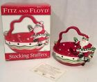 Fitz & Floyd Stocking Stuffers Basket NIB 2007