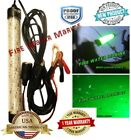12v Waterproof 12 DELUX LED GREEN UNDERWATER SUBMERSIBLE NIGHT FISHING LIGHT