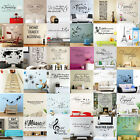 US STOCK Removable Quote Word Decal Vinyl Wall Stickers DIY Home Room Decor Art