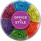 Office Style 28 mm Colored Paper Clips 480 Pieces