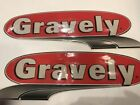 GRAVELY MOWER 69201900 VINTAGE STYLE DECAL SET