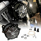 Contrast Cut Venturi Air Cleaner Intake Filter System For Harley Dyna 93 14 15