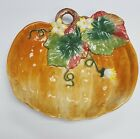 ~Charming Fitz and Floyd Pumpkin Holiday Dish~ Gardening Gourmet Collection~