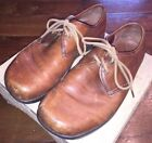 EARTH Kalso Classic Ochre Eclipse Oxfords Brown Leather Lace Up Shoes Men 7