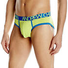 Andrew Christian Sexy Cool Flex Tagless Lime Brief With Show-it  Size Large