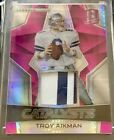 Troy Aikman 2017 Spectra Catalysts Pink 3 5 Very Rare!!! Dallas Cowboys SWEET!