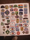 Lot of 49 Misc vintage GS Girl Scout Patches Badges Camporee cookies LOT  3