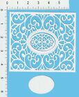 1 LACE RECTANGLE die cuts embellishmentssizzix quickutz cottage cutz