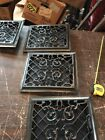 T8 4 Avail Price Ea. Antique Wall Mount Heating Grate 10 x 11.75