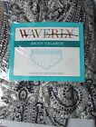 Waverly Paisley Pizzazz Licorice (Black/Grey) Ascot Valance NEW IN PACKAGE 79x18