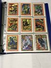 G.I. GI JOE SERIES 1 1991 IMPEL COMPLETE BASE CARD SET OF 200 IN PAGES