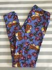LuLaRoe OS Leggings NEW Disney Collection Beauty And The Beast Fast Shipping