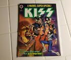 Kiss 1978 Marvel Comics Super Special With Poster