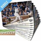 2017 Topps Now World Series Matchups Set Dodgers Astros WSM1-WSM-10 (10 cards)