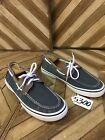 Sperry Mens Halyard Boat Shoe Size 10 S5300