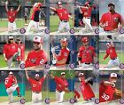 2017 Topps Now Washington Nationals Road to Opening Day Master Team Set w bonus