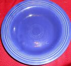 VINTAGE FIESTAWARE COBALT BLUE FRUIT BERRY PASTA BOWL 8 1/4 INCHES