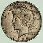 Early 1922 D Peace Silver Dollar 90 Silver US Coin 634