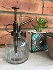 Vintage Style Glass Watering Can Mister Flower Garden Plant Spray Bottle  Pump