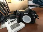 Nikon D200 Very Clean And Working