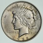 Early 1922 Peace Silver Dollar 90 Silver US Coin 180