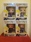 Funko Pop! - Fallout - Vault Boy, set of 4 Hot Topic Exclusive Mystery w CHASE