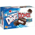 NEW HOSTESS DING DONG SNACK CAKES 12 CT 15.3 OZ BOX FREE SHIPPING