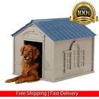 XXL DOG KENNEL FOR X LARGE DOGS OUTDOOR PET INSULATED HOUSE BIG SHELTER CABIN