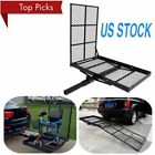 Mobility Carrier Wheelchair Electric Scooter Rack Hitch Disability Ramp