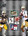 2018 Leaf Metal Draft Football Hobby 15-Box Case