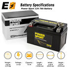 ExpertBattery YTX7A-BS GEL 12V 6AH Battery for Scooter KYMCO People 150 150CC 09