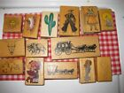 Your CHoice rubber stamp Southwestern Cowboy Themes See photos