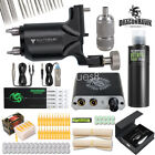 Dragonhawk Extreme Rotary Tattoo Kit Machine Power Supply OCTOPUS Ink Needles