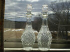 A Pair Of Anchor Hocking Wexford Tall Decanters - 32 Oz.