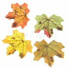 Artificial Cloth Maple Leaves Autumn Fall Leaf Art Wedding Home Wall Party Dcor